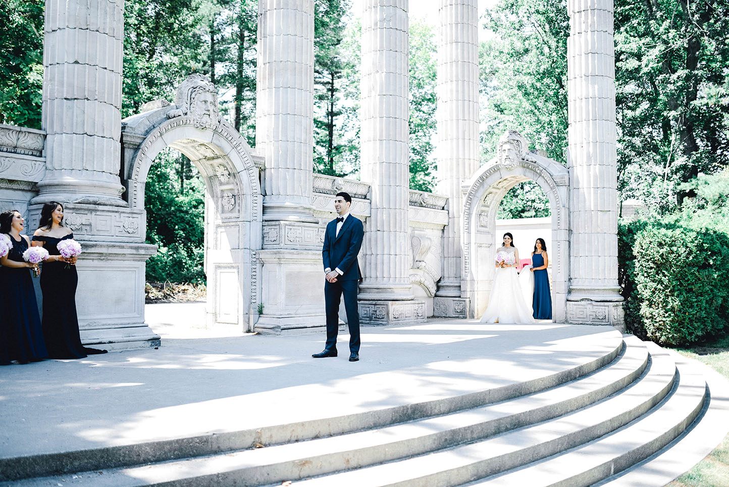 First look wedding day photography Toronto